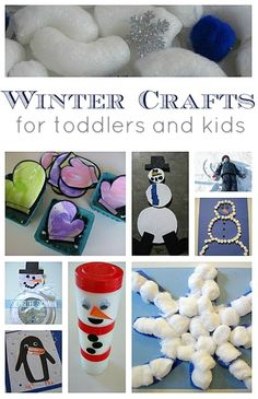 Easy Winter Crafts and Activities