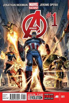 Nomalez, Marvel Now: AVENGERS covers - Issues #1, #2 and...