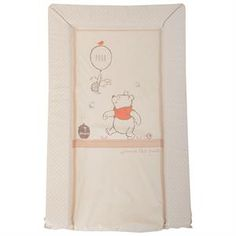 Classic Winnie The Pooh Nappy Changing Travel Mat /& Wipes//nappy Holder
