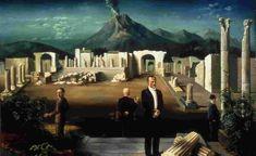 De laatse bezoekers van Pompeii - Carel Willink - WikiArt.org ...