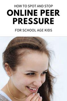 peer pressure for kids elementary school