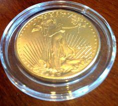 BRILLIANT UNCIRCULATED 2004 50$ 1 OZ FINE GOLD AMERICAN EAGLE