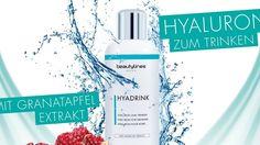Gewinne eins von zehn HYADRINK-Sets von beautylines Natural Skin Care, Cosmetics, Products, Beauty Products, Drugstore Makeup