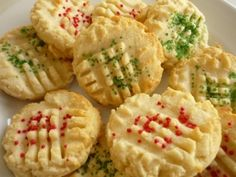 Norwegian Spritz cookies- I made them last year for Christmas and they are so good!