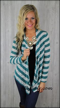 Jaded between the lines cardigan: Filly Flair