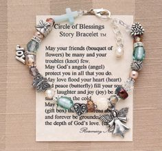 What a beautiful bracelet expressing so much of what I feel toward my sisters in Christ!