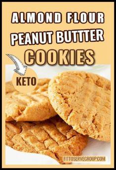 Almond Flour Desserts, Almond Flour Cookies, Almond Flour Recipes, Sugar Free Desserts, Sugar Free Recipes, Keto Cookies, Keto Recipes, Dinner Recipes, Chip Cookies