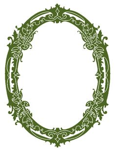 *The Graphics Fairy LLC*: Vintage Clip Art - Stunning Silhouette Frames - Christmas Fairy Silhouette, Silhouette Frames, Vintage Silhouette, Silhouette Design, Graphics Fairy, Floral Frames, Hansel Y Gretel, Silhouette Pictures, Printable Frames
