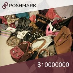 TONS Of Bags MK, Coach, Burberry, Dooney, etc... TONS Of Bags MK, Coach, Burberry, Dooney, etc...  In the process of listing over 100 Bags!! Check for Individual listings or Ask Here!! Coach Bags Totes