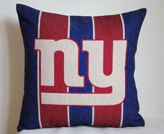 NFL New York Giants Pillow, New York Giants Decor Pillow Cover,New York  Giants Gift