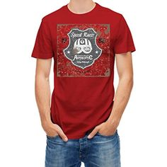 T shirt Speed racer helmet motorcycle riders Red Tango XL - Brought to you by Avarsha.com