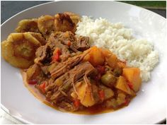 Grandma Hernandez' Ropa Vieja with White Rice & Tostones | Little Lady, Big Appetite