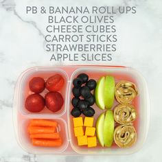 Back to School Lunch Ideas with Pearls Olives To Go