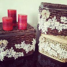 Dekoratif Sepetler (Handmade)
