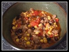 Turkey Black Bean Chili Recipe