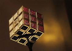 The Masterpiece Cube Rubik's Cube – $1.5 million Made of 18 Carat gold, with 185…
