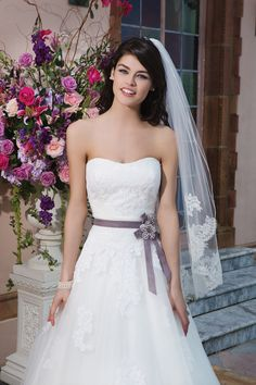 Wedding gown by Sincerity Bridal