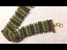 Bracelet netted , bileklik Petek yapımı ( yeni başlayanlar için ) - YouTube
