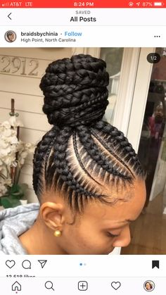 23 Pretty Small Box Braids Hairstyles to Try – Healthick Box Braids Hairstyles, Black Hair Updo Hairstyles, Braided Ponytail Hairstyles, Braided Hairstyles For Black Women, Cornrows Updo, Hairstyles 2018, Feed In Braids Ponytail, Box Braids Bun, Big Braids