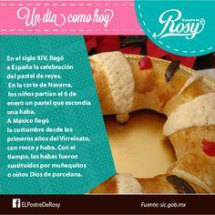 Historia de la rosca de reyes  #Postres #Puebla www.facebook.com/ElPostreDeRosy