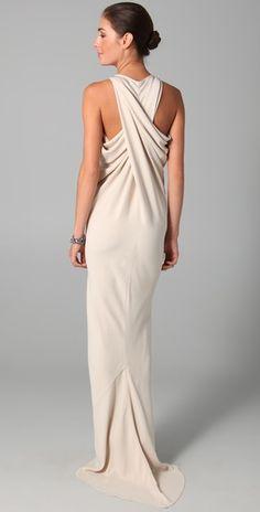Maria Grachvogel Egrit Long Dress Source by vanessagade dresses ideas Evening Dresses, Formal Dresses, Wedding Dresses, Long Dresses, Mode Glamour, Mode Chic, Mode Inspiration, Beautiful Gowns, Dress Me Up