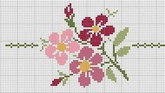 Flor [] # # #Crossstitch, # #Tapestry #Crochet, # #Fair #Isle #Chart, # #Fair #Isles, # #Tibet, # #Charts, # #Stitches, # #Beading, # #Cross #Stitch