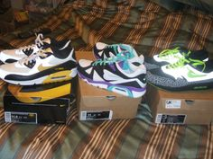 Livestrong AM '90, Triax and 112 Air Max 1