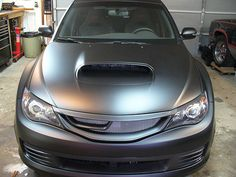 Awesome Plasti-Dipped Subaru...I think I like Plasti-Dip.