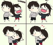 cute anime couple pictures - Google Search