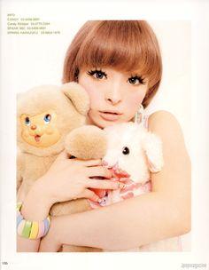 Kyary Pamyu Pamyu #gyaru #doll #inspiration #plushies #cutie #kawaii #girly