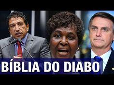 Magno Malta e Bolsonaro retrucam petista Benedita após ela falar em 'der...
