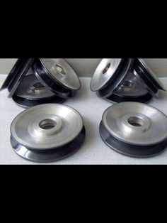 Ceramic coating for wire pulley