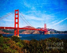 San Francisco Golden Gate. Photo by Sonja Quintero via Fine Art America