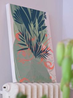 http://www.susannethurn.de/ cut out of handprinted wallpaper by susanne thurn