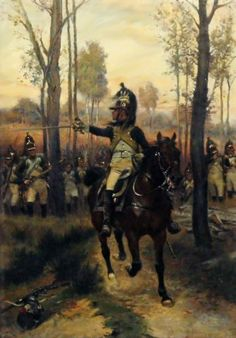 French Dragoons dismounted