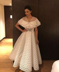 What a neck Indian Designer Outfits, Indian Outfits, Designer Dresses, Indowestern Gowns, Lehnga Dress, Indian Gowns, Lehenga Designs, Draped Dress, Blouse Designs