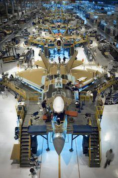 F22 production line