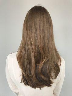 Pretty Hairstyles, Straight Hairstyles, Long Hair Cuts, Long Hair Styles, Long Layered Haircuts, Brown Blonde Hair, Aesthetic Hair, Hair Dos, Dyed Hair
