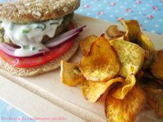 Chips de batata doce - receita actifry