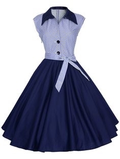 Amazon.com: Maggie Tang 1950s Vintage Pinup Cocktail Swing Rockabilly Dancing Party Dress: Clothing