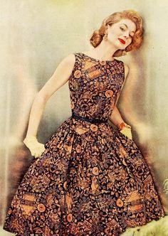 Suzy Parker 1950s