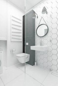 Eclectic Bathroom by I Home Studio Barbara Godawska