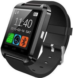 Bingo U8 Smartwatch (Black Strap) @ Rs.699  Flipkart #SmartwatchMens