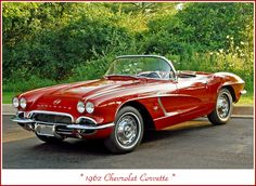 1962 Corvette, Old Corvette, Classic Corvette, Chevrolet Corvette, Corvette Summer, Pontiac Gto, Us Cars, Sport Cars, Classic Chevy Trucks
