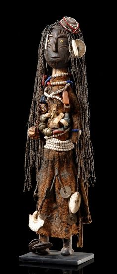 "Fertility doll ""ikoku"" from the Turkana people of Kenya"