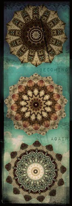 ➳➳➳☮American Hippie Bohemian Boho Bohéme Art - Mandalas