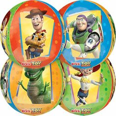 Toy Story Party Balloon Decoration Kit with Forever ORBZ balloon Image 3 of 6 Toy Story Game, Toy Story Party, Custom Balloons, Mylar Balloons, Buy Toys, Balloon Decorations Party, Party Planning, Latex, Kids Outfits