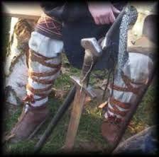 Znalezione obrazy dla zapytania strój słowiański męski