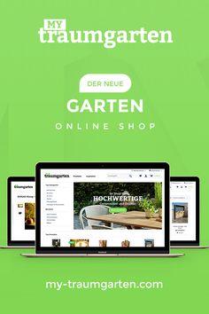 Der neue Garten Online Shop für spannendes Garten Design.