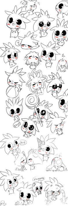I love everything but when sonic calls him a slow poke, Chibi Silver doodles by on DeviantArt Sonic The Hedgehog, Silver The Hedgehog, Sonic Funny, Sonic Franchise, Sonic And Shadow, Sonic Fan Art, Comic Pictures, Pin Art, Hedgehogs